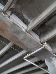 Downtown Plymouth's parking deck is showing its ages, but repairs are coming.