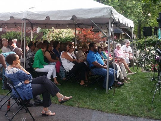 A crowd gathers for a Boston-Edison concert last summer.