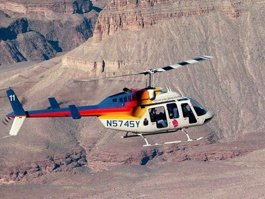 Papillon Grand Canyon Helicopters over Grand Canyon