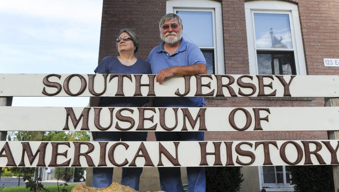 Barbara and Jeffery Norcross, curators of The South Jersey Museum of American History, pose for a portrait in October 2012 in Glassboro, NJ.