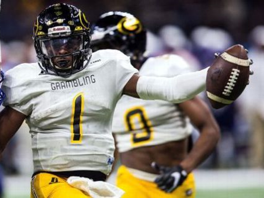 Grambling State quarterback Devante Kinkade, the Southwestern Athletic Conference Offensive Player of the Year, has 28 touchdown passes and three interceptions this season.