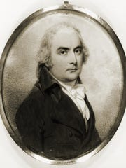 Portrait of Ira Allen. Courtesy, Special Collections,