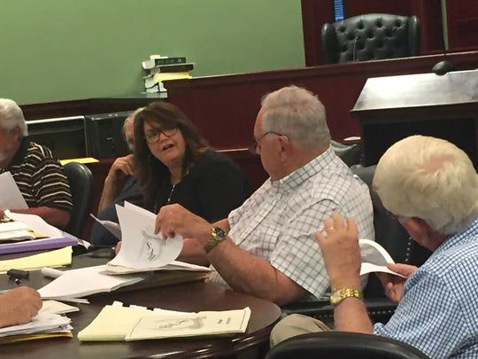 Houston County Director of Schools Kris McAskill explains