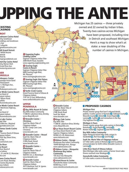 Michigan Casinos Map  My blog