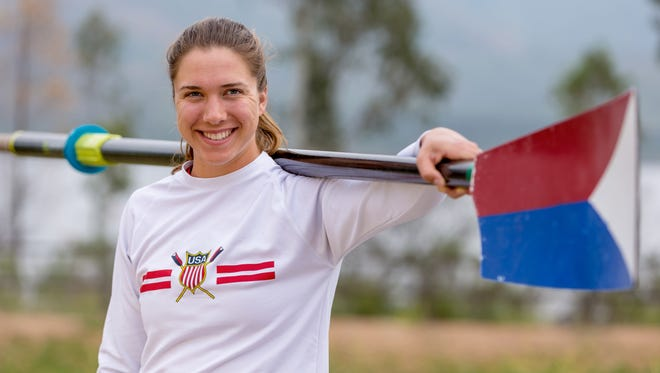 West Lafayette native Amanda Elmore will compete with for the United States' dominant women's eight team that has won 10 straight world or Olympic titles.
