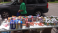 In a residential Ferguson area, some giving away food to seniors who haven't been able to leave recently