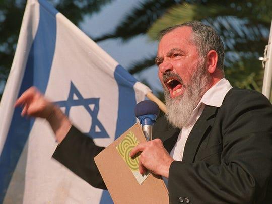 Rabbi Meir Kahane founded the Jewish Defense League.