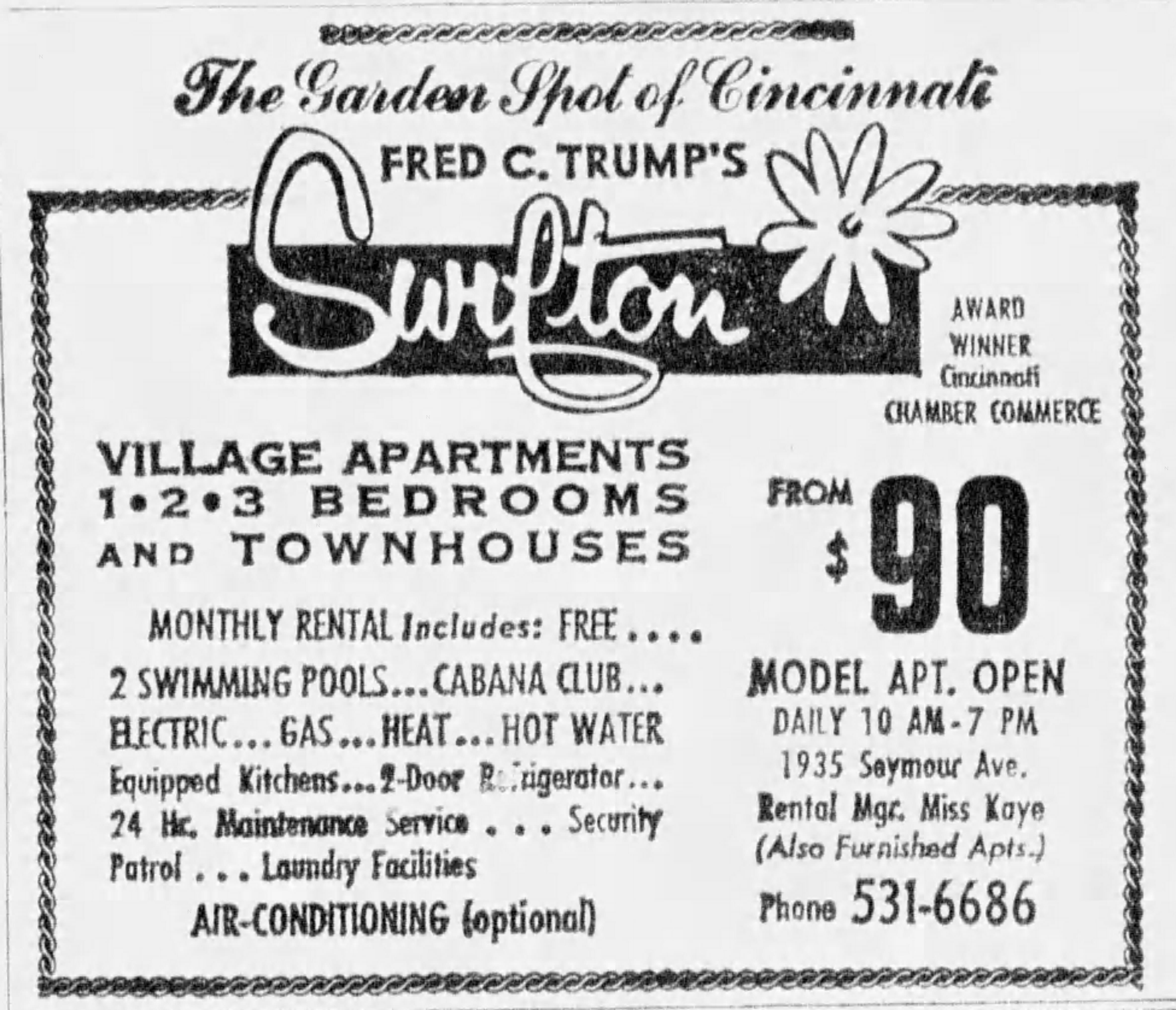 Swifton Village: Donald Trump Mentions Apartment Complex, But Not What Went  Wrong There