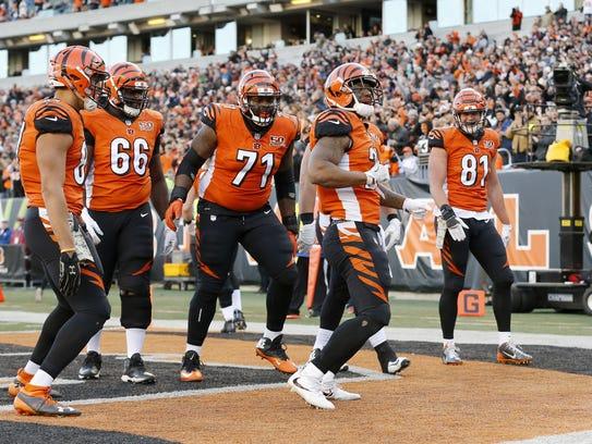 Cincinnati Bengals running back Joe Mixon makes sure
