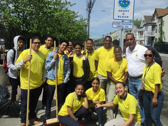 "Participants in the recent ""Clean Communities"" effort"