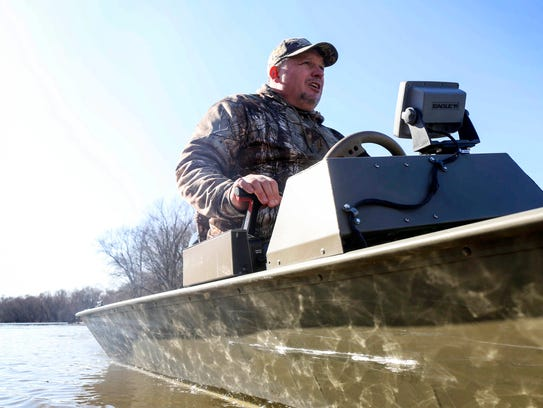 Ronnie Wolfe, a business owner and lifelong resident of Quasqueton, a small town on the Wapsipinicon River in northeast Iowa, is interested in a program that's designed to build wetlands an oxbows that can reduce flooding in communities downriver.