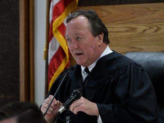 Sevier County Criminal Court Judge Rex Henry Ogle on