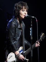 Joan Jett and the Blackhearts performs at the UW-Milwaukee Panther Arena Saturday.