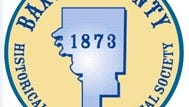 Baxter County Historical and Genealogical Society logo.