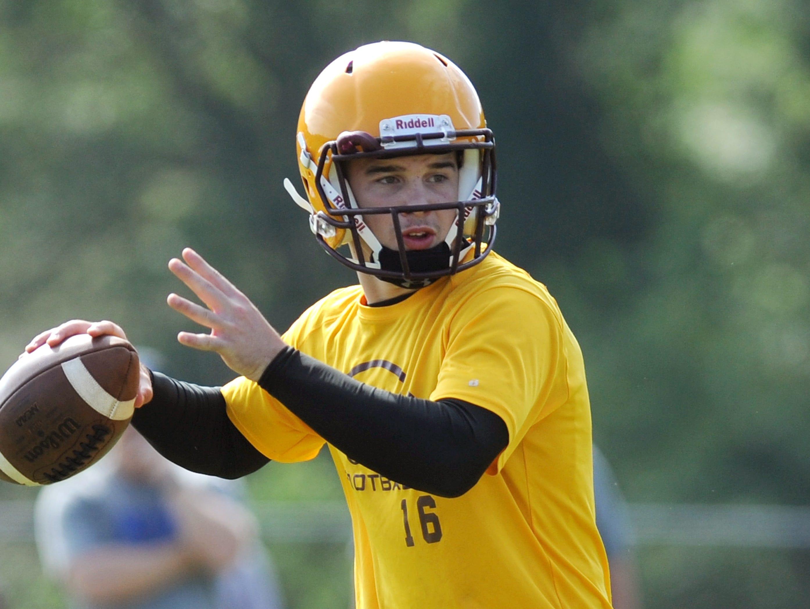Cherokee sophomore quarterback Tye Mintz.