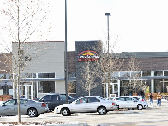 Tony Sacco's Pizza, The Heights at Eastwood's first tenant, went out of business in November..