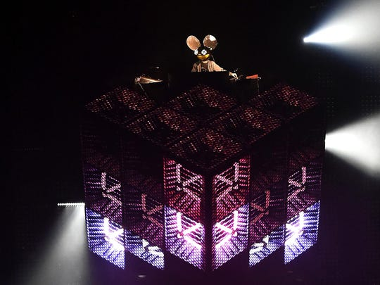Deadmau5 will perform at Electric Zoo: Wild Island in New York City, which runs Sept. 1-3.