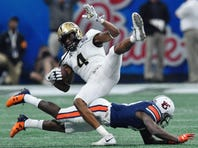 'It's like everyone has their excuses ready,' says Saints' Tre'Quan Smith, formerly of UCF