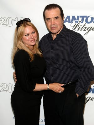Gianna Palminteri, left, and Chazz Palminteri, right, attend Cantor Fitzgerald and BGC Partners' 10th Annual Charity Day on Thursday, Sept. 11, 2014 in New York. (Photo by Andy Kropa/Invision/AP)