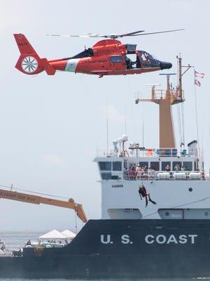 The Coast Guard.