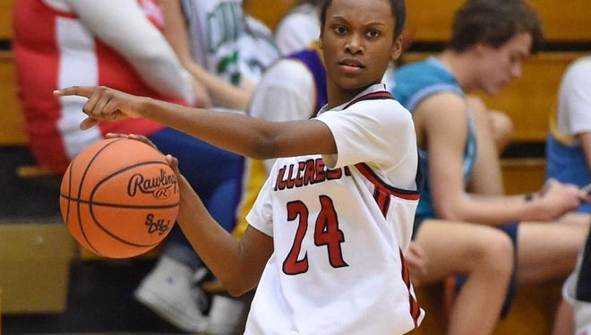 Randria Anderson and the Hillcrest Rams are No. 6 in Class AAAAA in this week's South Carolina Basketball Coaches Association rankings.