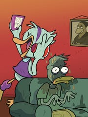 Game art for Party Fowl, a new board game developed in Springfield, was created by nationally famous web comic KC Green.