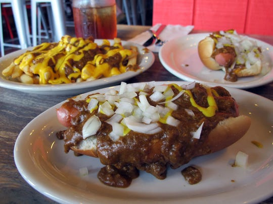 The Detroit Dog at the newly opened Motor City Coney