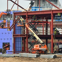 One year into project, new Sartell High School remains on time, budget