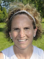 Croswell-Lexington track and field coach Lisa Shaw