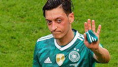 Mesut Ozil represented Germany at three World Cups.