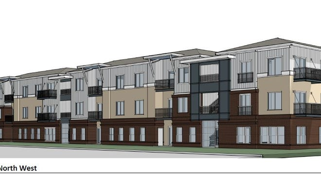 Prospect Station II planned for 36 apartments at 303 W. Prospect Road, next to the original Prospect Station.