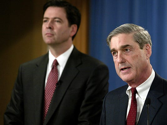 Robert Mueller James Comey Profile Picture