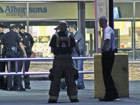 The Alamogordo Police Department along with the Alamogordo Fire Department responded to a reported bomb threat Tuesday evening at Albertsons Market. Nothing suspicious was found according to Ray Brown of the Alamogordo Police Department. The employees were allowed to enter the store once the scene was deemed clear.