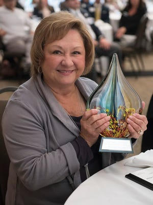 She knows the trucking business. She also knows giving back to the community. That's why Marion Rozum is the Canton Chamber of Commerce's Business Person of the Year.