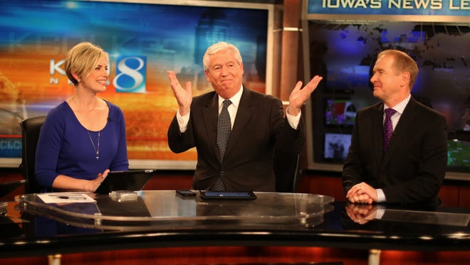Longtime KCCI news anchorman Kevin Cooney announced in May that he'd be retiring this year.