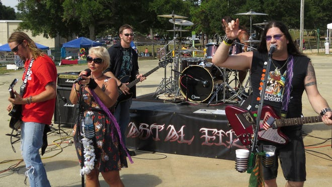 Coastal Fire will be performing today and Saturday at Chasers Bar & Lounge on North W Street.
