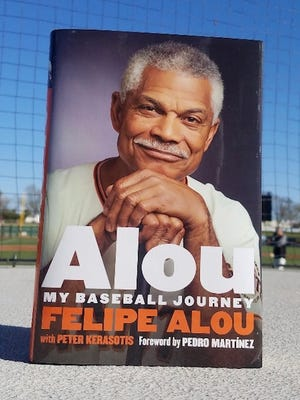Peter Kerasotis' book on Felipe Alou's life will be available Tuesday evening in Cocoa.