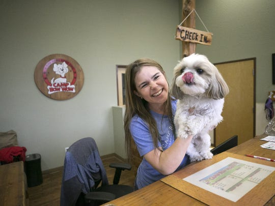 Heather Owen, owner of the Camp Bow Wow franchise in