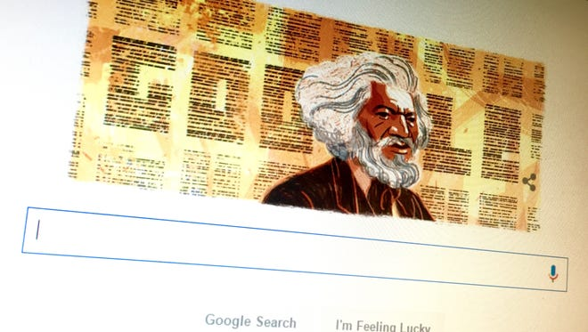 Google kicked off Black History Month with an image of Frederick Douglass.