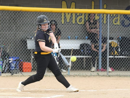 Taylor's Brooklyn Linneman was an All-State selection for the Yellowjackets