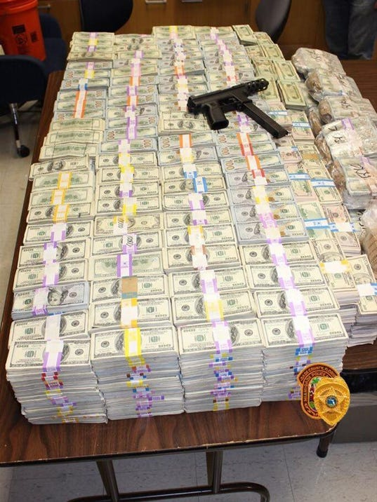 Cops Find 24 Million Stashed In Suspect S Wall