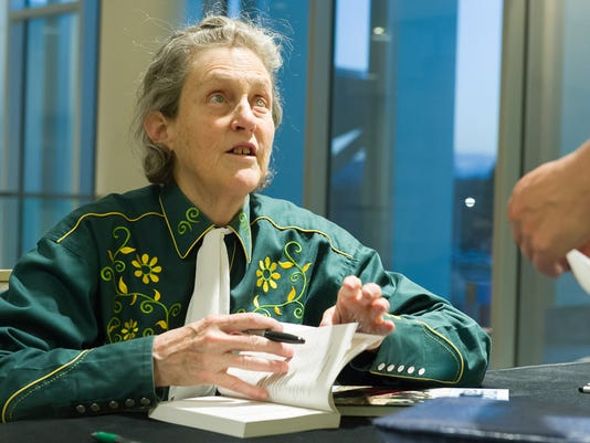 Temple Grandin Delivers Colorado State University President's Co
