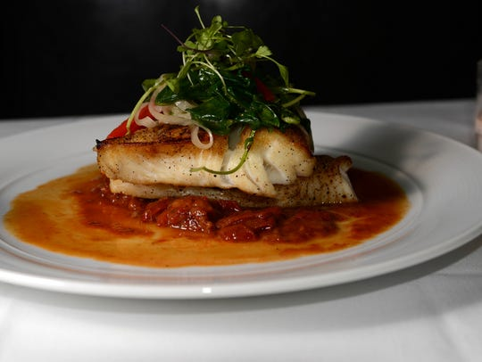 Roots Steakhouse halibut special.