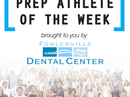 Vote for Livingston Daily's Athlete of the Week, brought to you by Fowlerville Dental Center.