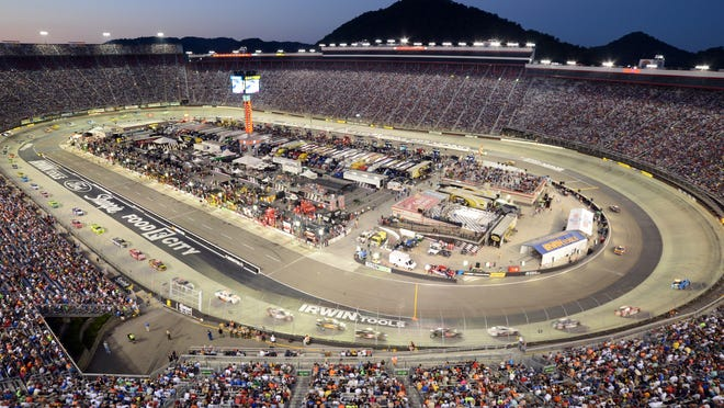 Bristol Motor Speedway is a half-mile track that hosts two NASCAR events each year, the second one in late August.