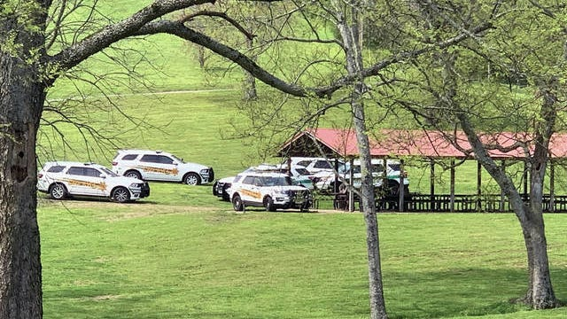 Even members of the Maury County Sheriff's Department were enjoying warm temperatures at Maury County Park last week after a March of mostly rainy weather. Sheriff Bucky Rowland says the deputies' ability to relax is an important part of coping with stress on the job.