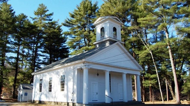 While it is premature to say what projects would get Franklin CPA funding, one possibility is stabilization of Franklin's 1856 South Meeting House on Washington Street.