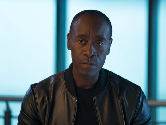 "Don Cheadle has played James Rhodes in several Marvel movies, replacing Terrence Howard after the first ""Iron Man."""