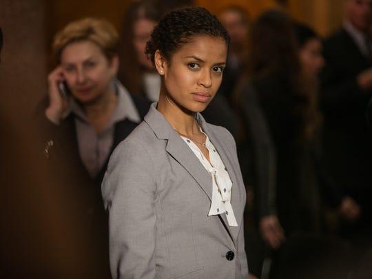 Gugu Mbatha-Raw stars as a junior lobbyist in 'Miss Sloane.'
