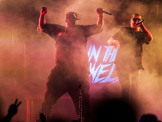 Run the Jewels opens for Lorde on Sunday, March 25,